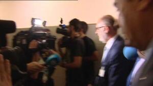 Carrera de obstáculos de Bárcenas en su salida de la comisión sobre la financiación irregular del PP