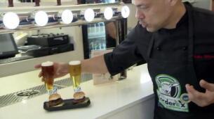 Corderex marida sus hamburguesas con cerveza artesana