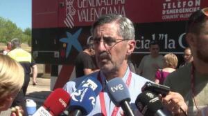 La Generalitat espera que el fuego de Gátova se pueda perimetrar en próximas horas