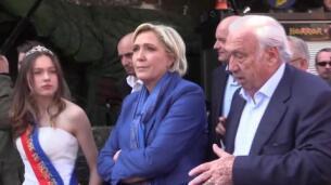Marine Le Pen, imputada por supuesto desvío de fondos