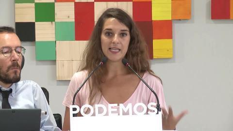 Podemos, satisfecho con que PSOE rechace techo de gasto