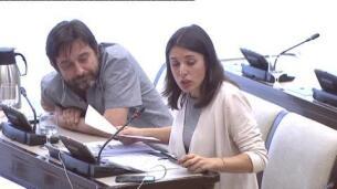 El comisario Pino elude contestar a las preguntas de Podemos en la comisión que investiga a Fernández Díaz