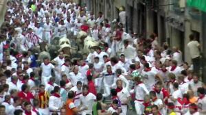 Los encierros de San Fermín se estrenan con 3 heridos por asta de toro