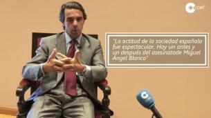 Entrevista a Aznar sobre Miguel Ángel Blanco
