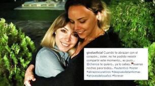 Las palabras más emotivas de Gisela a Chenoa