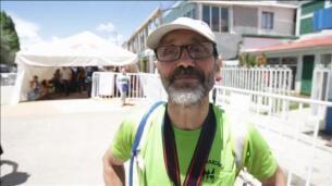 Indígenas se imponen a corredores profesionales en una maratón en México