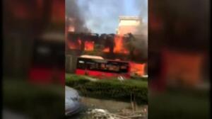 Impresionante explosión en un restaurante deja dos muertos y más de 50 heridos en China