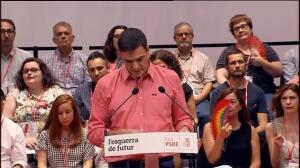 """PSOE: """"La crisis territorial no se resuelve con amenazas"""""""