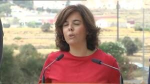 """Sáenz de Santamaría: """"Rajoy acudirá con su mejor disposición a colaborar con la justicia como testigo"""""""