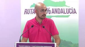 """Podemos no cree en """"cambio de rumbo"""" tras congreso del PSOE-A"""