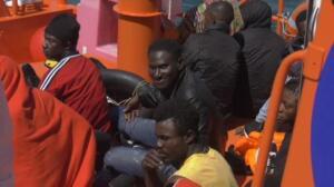 Llegada masiva de migrantes a las costas españolas