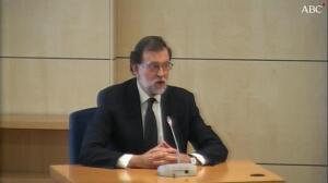 Rajoy «No sé si se ha confundido de testigo señor letrado»