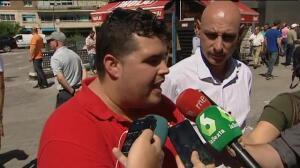 Los taxistas se manifiestan para pedir soluciones contra las empresas VTC