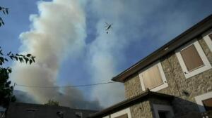 El fuego avanza sin control en Yeste, Albacete