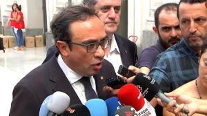 Puigdemont visita la estación de Francia tras el accidente que ha dejado 54 heridos, uno de ellos grave