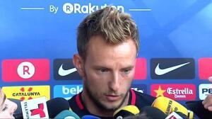 """Rakitic sobre Neymar: """"Queremos que se quede con nosotros porque forma parte de la familia"""""""