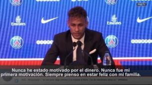 El PSG presenta a Neymar:
