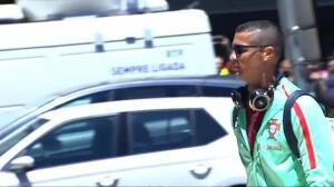 Cristiano sancionado con cinco partidos por la expulsión en Camp Nou