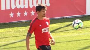 El Atlético de Madrid ultima su puesta a punto para el debut liguero