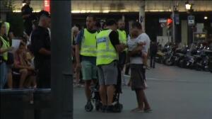 Conmoción entre los turistas que han presenciado la matanza en Barcelona