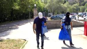 Los Mossos y la Guardia Civil realizan registros en Ripoll, donde reside el presunto autor del atentado de Barcelona
