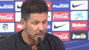 """Simeone: """"Somos muchos más lo que queremos la paz que los que no la quieren"""""""