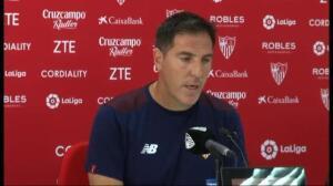 El Sevilla prepara su debut liguero ante el Espanyol