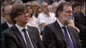 Unidad por la paz y las víctimas en la Sagrada Familia de Barcelona