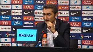 """Valverde: """"Sin determinados jugadores tenemos que buscar otras formas de jugar en ataque"""""""