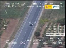 La DGT distribuye imágenes de las infracciones por velocidad más llamativas (IV)