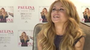 Paulina Rubio, embarazada de su tercer hijo