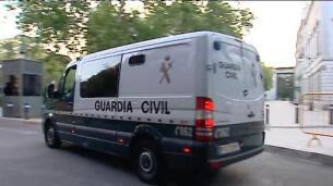 Llegan a la Audiencia Nacional los detenidos de los atentados de Barcelona y Cambrills