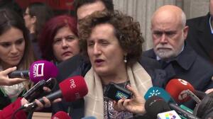 Juana Rivas llega a los juzgados de Granada
