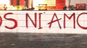 Un Cristo despiezado en un puesto de Bilbao desata la polémica