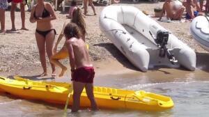 Vanesa Lorenzo y Puyol, amor y diversión en Ibiza
