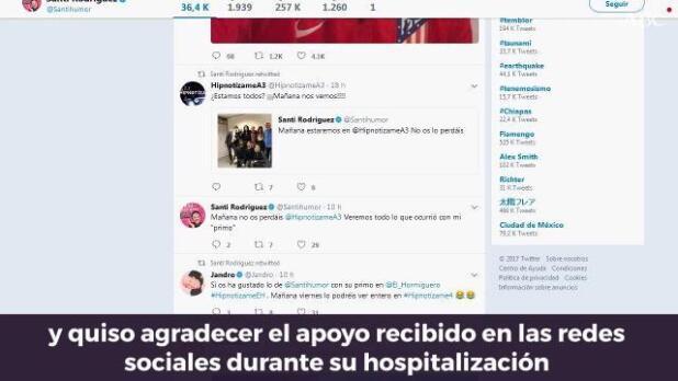 Santi Rodríguez se emociona en «El Hormiguero»