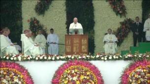 El papa Francisco señala en Medellín que