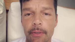 Ricky Martin preocupa a seguidores con su aspecto cansado