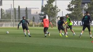 Kroos se entrena junto a sus compañeros