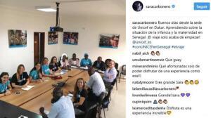 Sara Carbonero se aventura en su causa más social