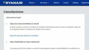 Ryanair cancela 2.000 vuelos en Europa
