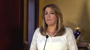 """Susana Díaz pide """"serenidad y tranquilidad"""" ante 1-O"""