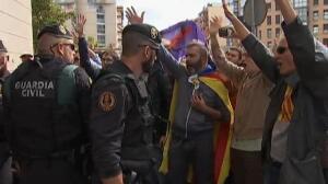 Disturbios frente a la vivienda de Joan Ignasi Sánchez, detenido en Sabadell