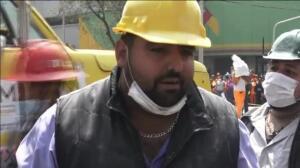 Asciende a 233 el número de muertos tras el terremoto de México