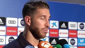 """Sergio Ramos: """"Hay que pasar página y pensar en el siguiente partido"""""""