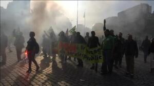 """La calle vuelve a decir """"no"""" a la reforma laboral de Macron"""