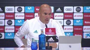 """Zidane: """"Lo más importante es tener ocasiones de goles"""""""
