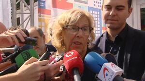 """Manuela Carmena utiliza su vehículo en el Día Europeo sin Coches: """"Lo siento, he metido la pata"""""""