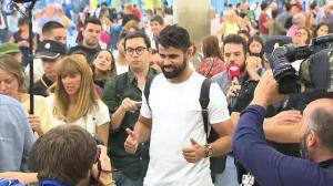 """Diego Costa ya está en Madrid: """"He tenido un final feliz"""""""