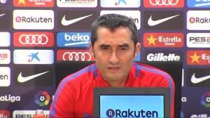 """Valverde no opina del 1-O: """"Nos adherimos a lo que ha dicho el club en su comunicado"""""""